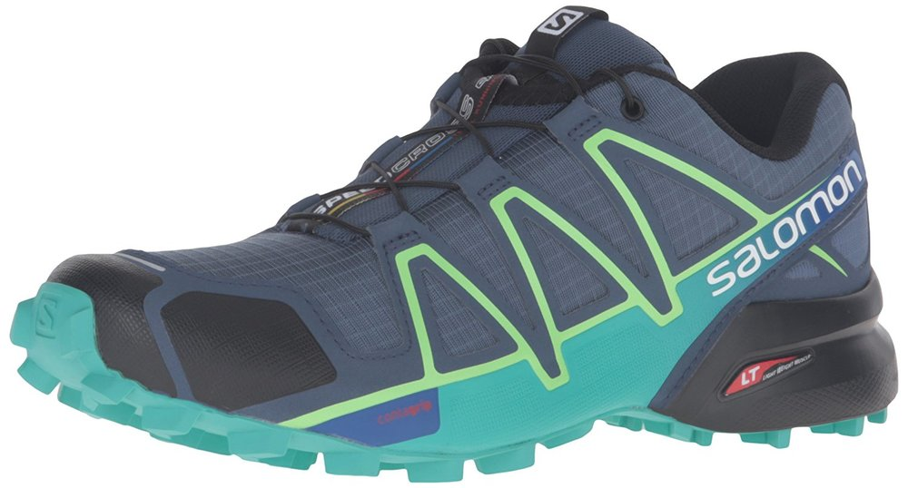 Salomon Speedcross 4 - Lightweight, tough, mudpluggers par excellence. This is the benchmark for trail running and lightweight trekking shoes. ₹ 5,699