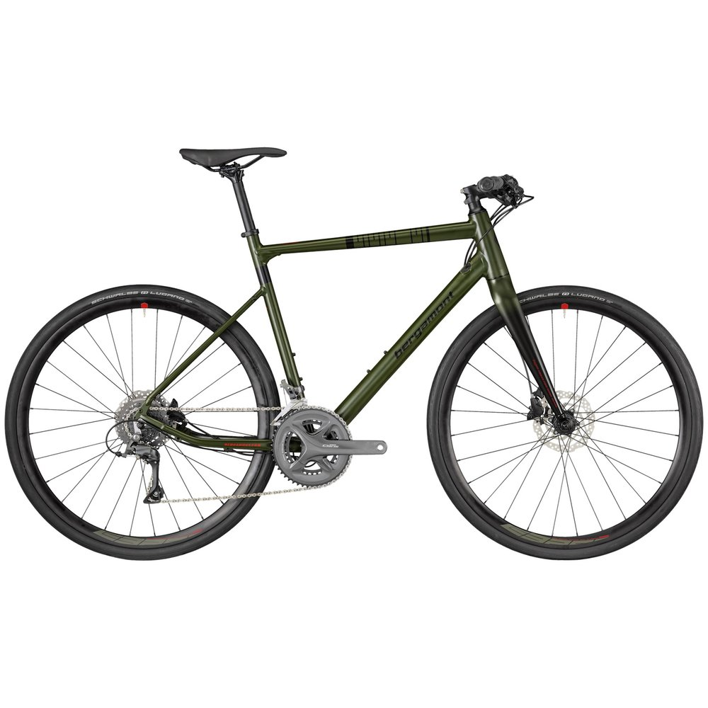 Bergamont Sweep 6 in Olive Green. Tell me is this not an awesome colour to have on a bicycle?