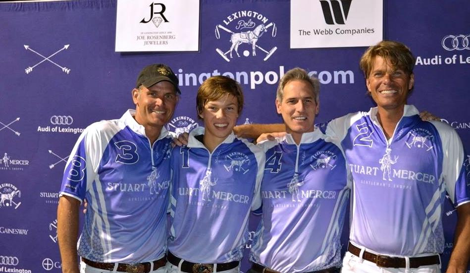 James Miller, Trent Lott, Stuart Mercer & Chet Lott