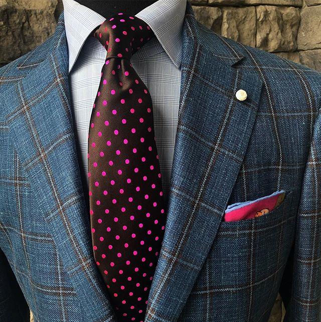 Coat. Shirt. Tie. Pocket square. The Superfecta!  #stuartmercergentlemansshoppe #GentlemansLife #keeneland #springmeet #derby