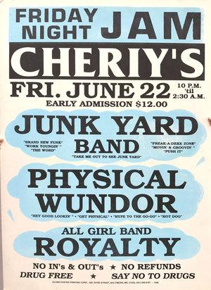 globe poster junk yard the legend of cool disco dan
