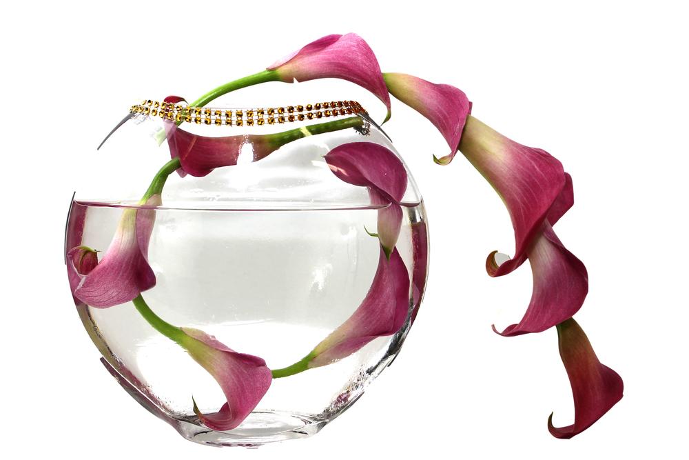 Calla Lilies Centerpiece