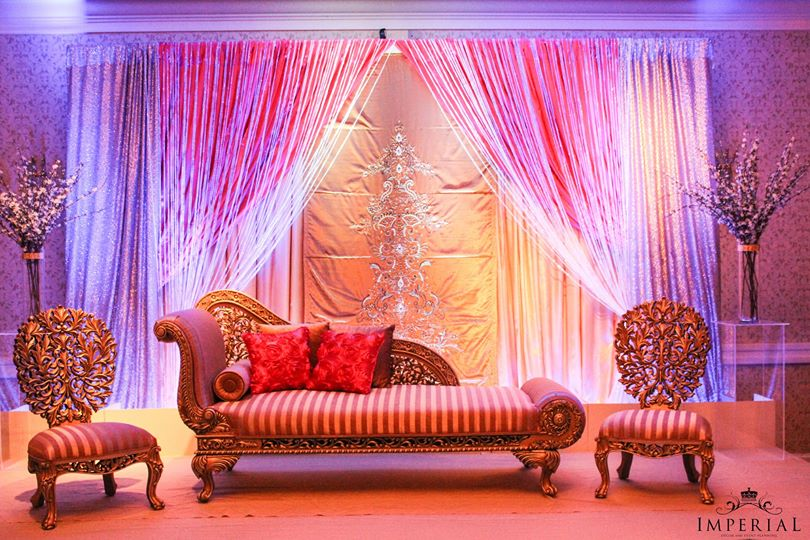 Desain Pernikahan Indian Wedding Stage Decoration Photos