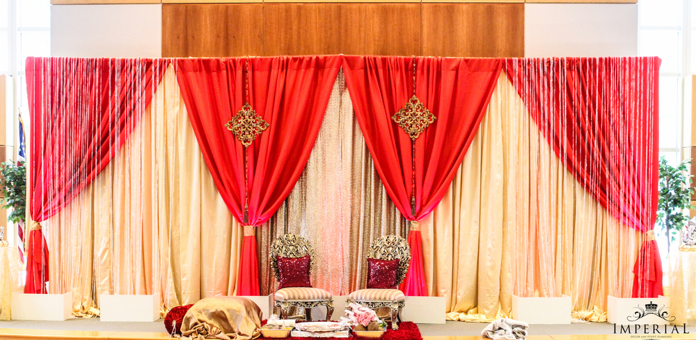 Blog imperial decor for Background decoration for indian wedding