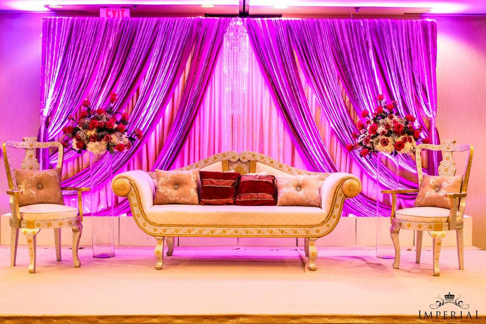 Imperial Decorations - Indian Wedding floral hall stage Decorations Virginia.jpg