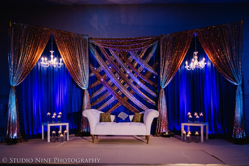 Metallic Decor Ideas For Wedding At Banquet Halls In Mumbai