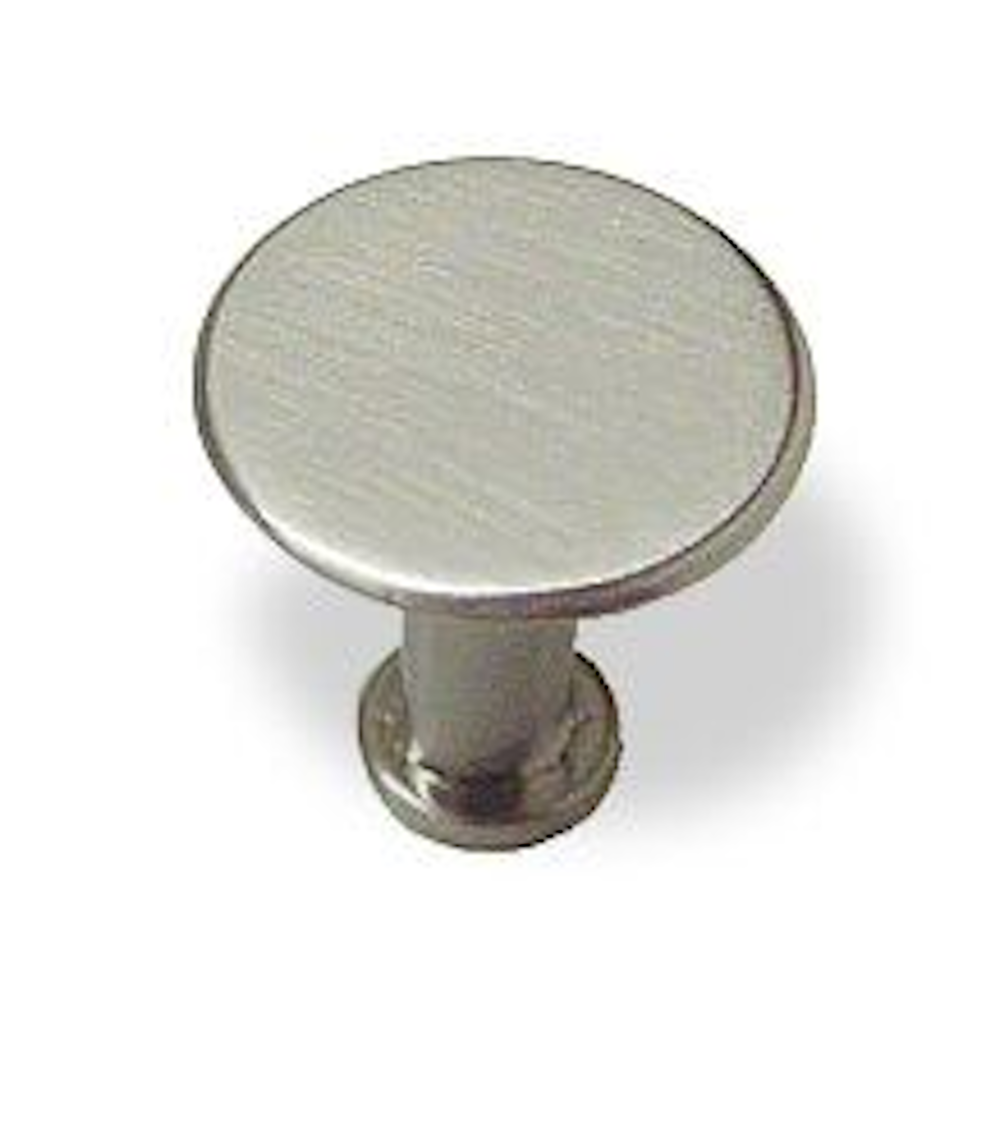 Satin Nickel Tapered Base