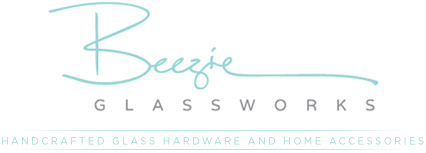 Beezie Glassworks | Handcrafted Glass Hardware and Home Accessories