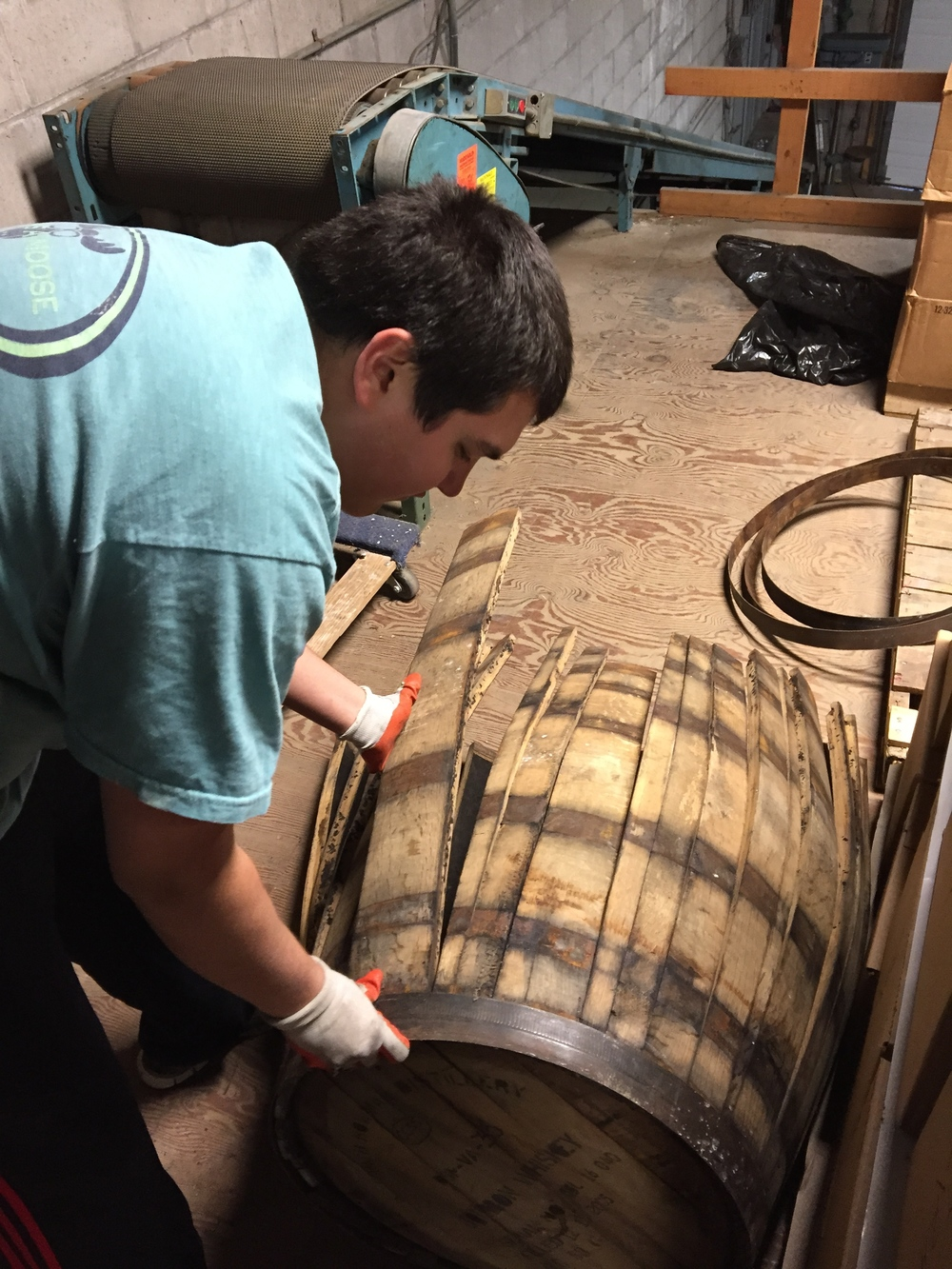 Nick breaks down the barrels, no tools required!