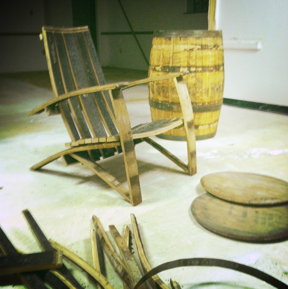 We'll keep making more barrels, so we'll keep using them.
