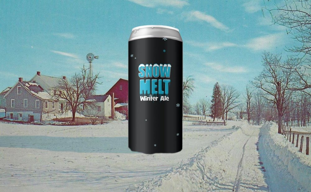 On Friday, November 23rd we're bringing the fun back to Black Friday with a can release of  Snow Melt Winter Ale , the brewer's favorite! A rich, roasty, mahogany-hued winter ale at 7%, brewed with Simcoe and Nugget hops that bring a bright pine finish. Best used for frost removal, holiday toasting, and guaranteed to clear the fog off your glasses. Plus we'll have some other Black Friday fun to keep you entertained... including the debut release of our  12 Beers of Christmas Variety Pack . Stay tuned for more information coming soon!