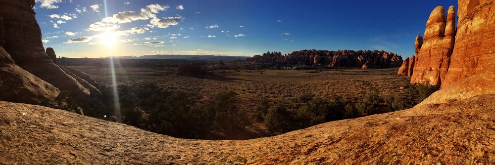 The Needles district of Canyonlands National Park in Moab, Utah