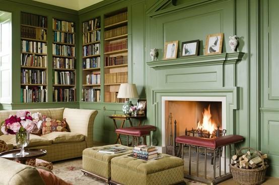 bookshelf wallpaper uk