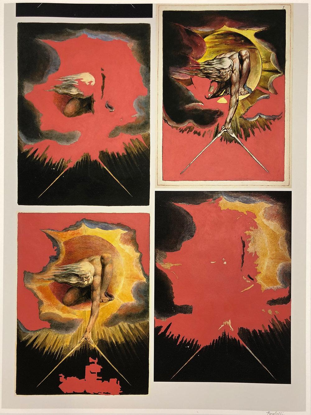 """""""q=william+blake+god"""", 60 cm x 80 cm, inkjet and acrylic paint on hahnemuhle paper."""