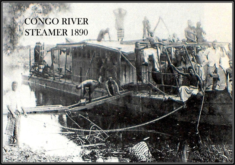 Steamer Transportation on the Congo