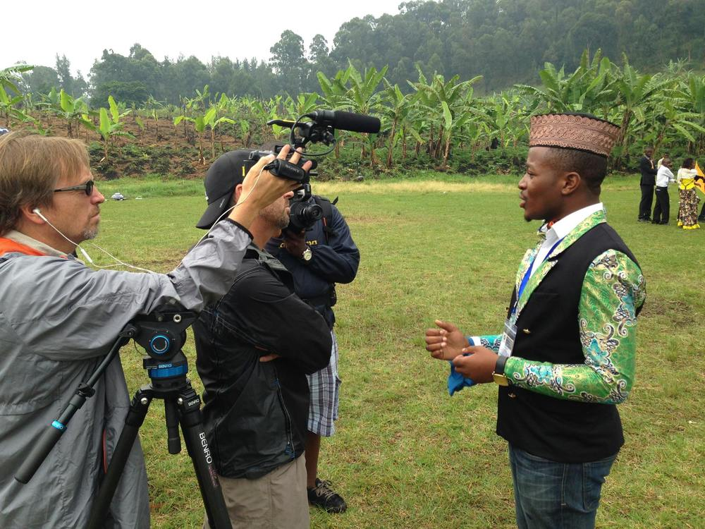 Fund the films you want to see made about the Congo  The Congo Unites film crew in Goma, DRC
