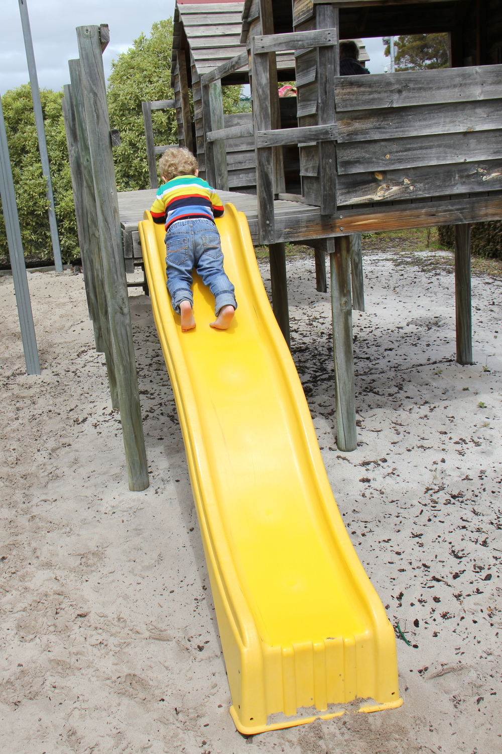 The Archie Slide Position!