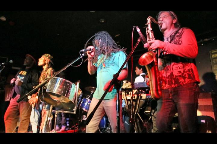 The Protesters jamming with Caribbean Soul at the playing for change gig.jpg