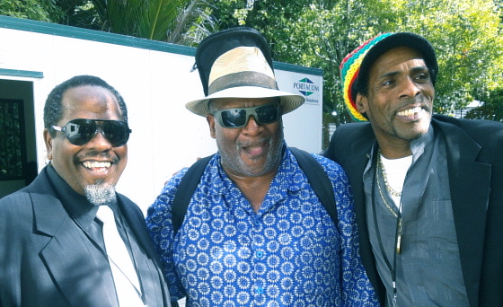 Pat and Lennox with Taj Mahal - Womad NZ copy.jpg