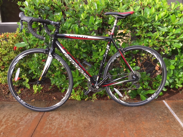 Cannondale Road Bike- Medium Size Frame    Available for pick-up at our Kapolei Bike Shop