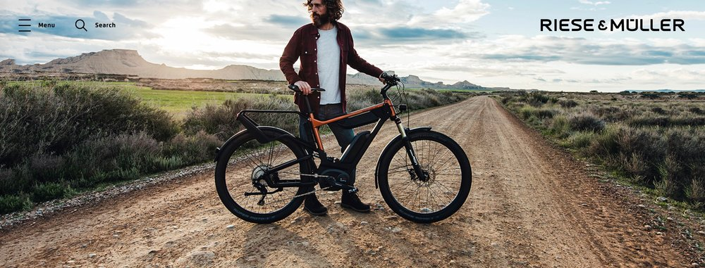 The Delite. Dual Bosch batteries. Full suspension, fenders, rear rack, and integrated lights.