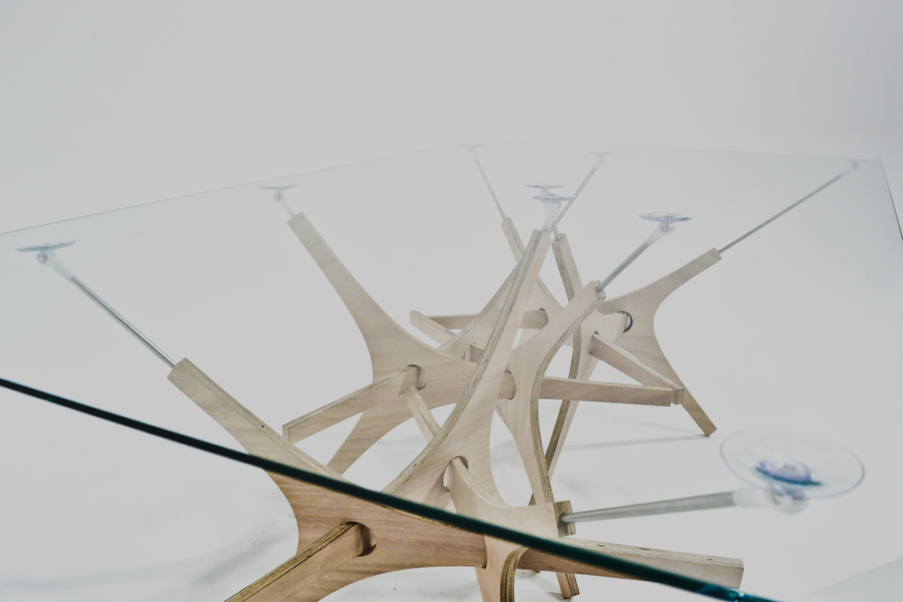FRICTION TABLE   GENERATIVE SYSTEM, FURNITURE, MASS-CUSTOMIZATION   MORE