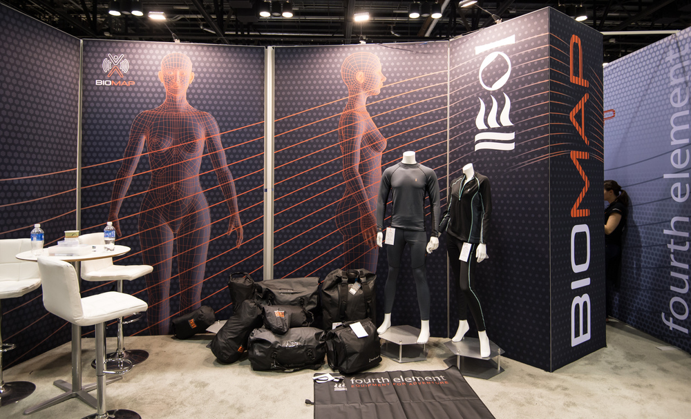 Fourth Element showed off some new designs and materials in their quickly expanding softgoods portfolio