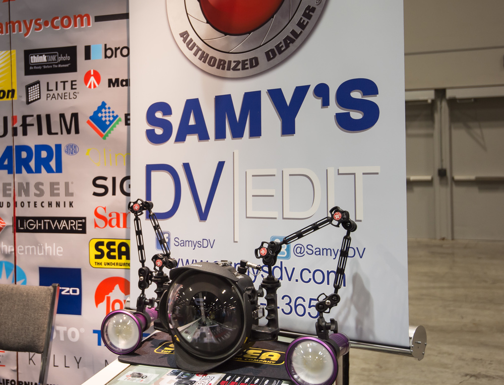 Samy's Camera is a longtime photographic equipment retailer, but has gotten into underwater offerings in recent years