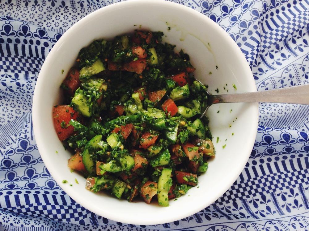 coriander salsa