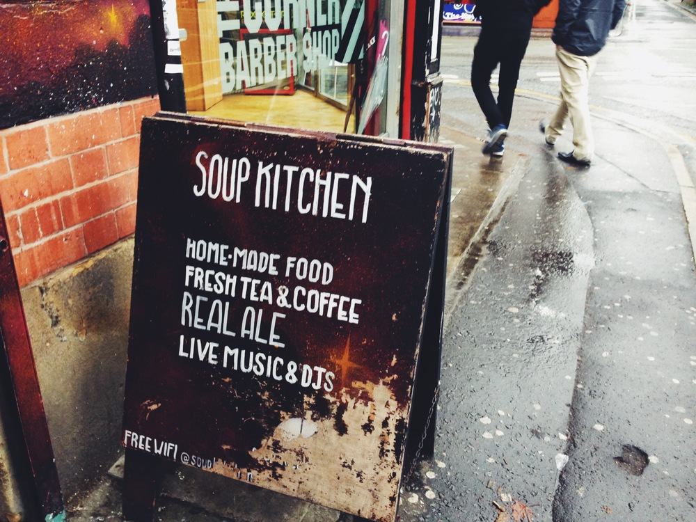 Soup Kitchen manchester