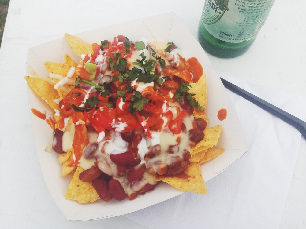 Club Mexicana vegan nachos