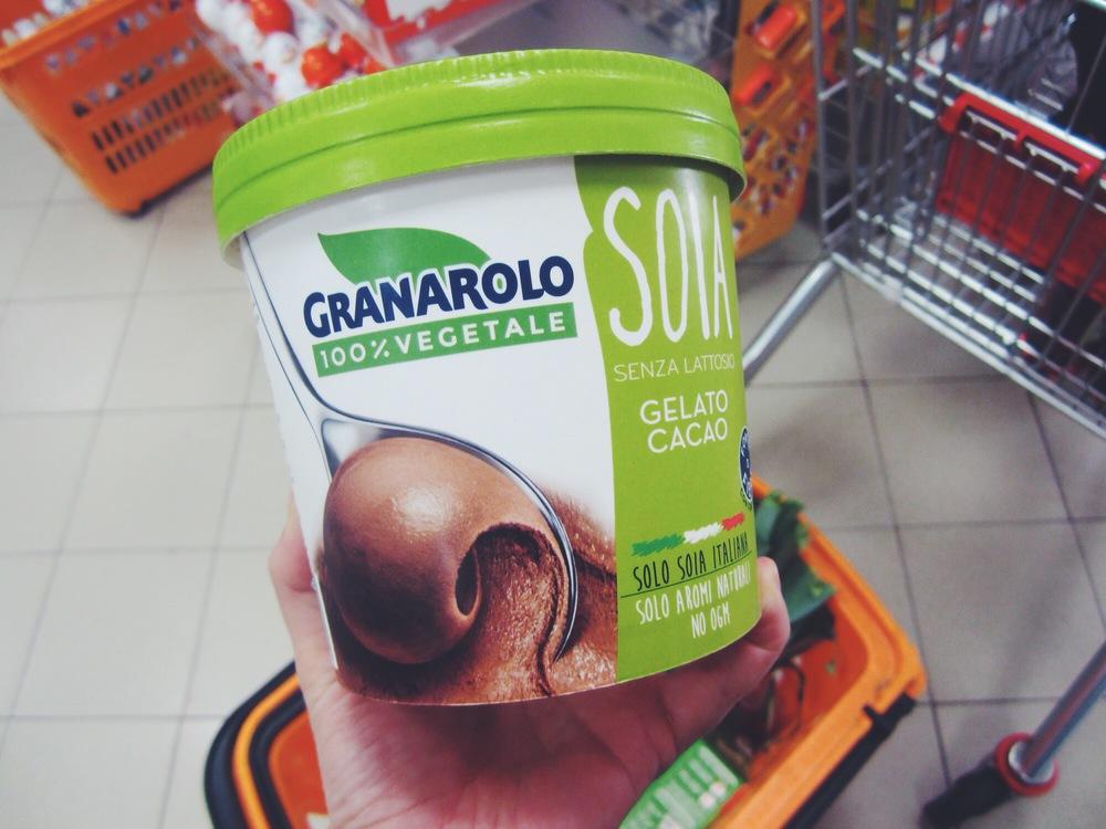 vegan ice cream in Italy
