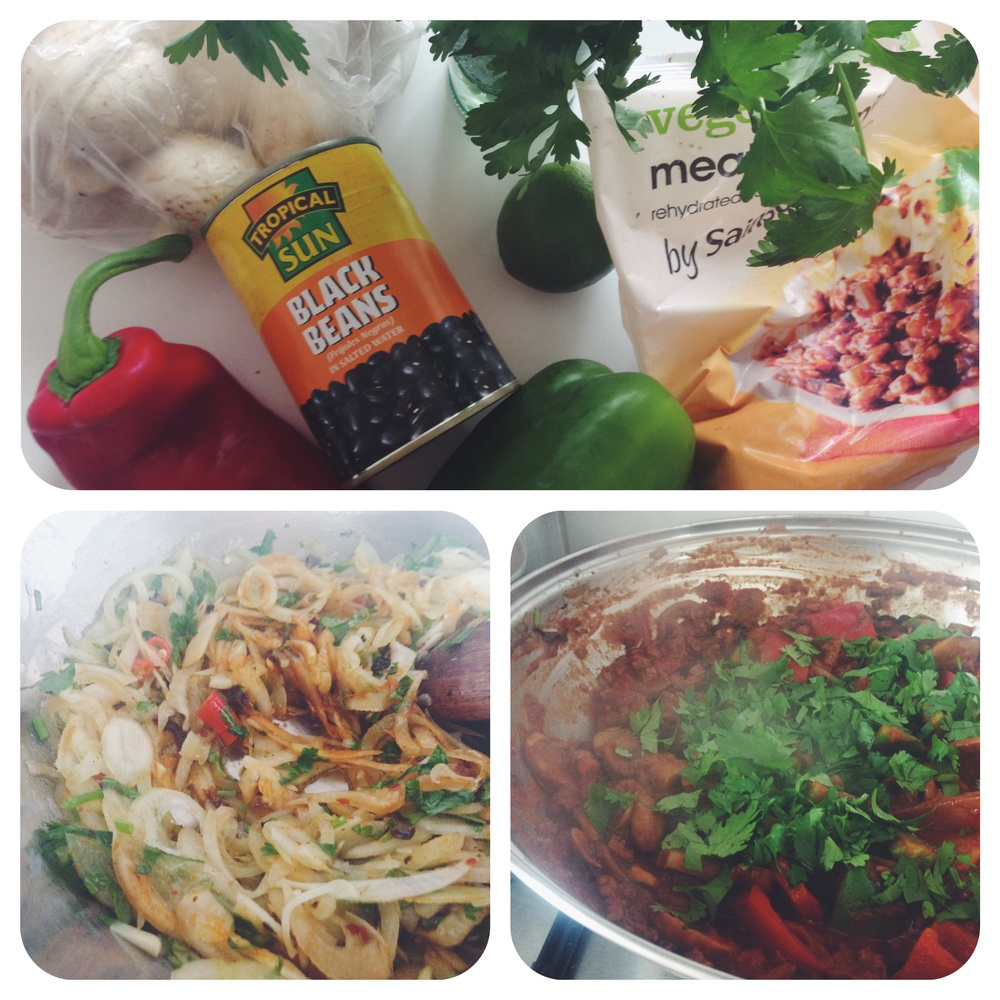 chilli non carne vegan recipe freezer meals cheap