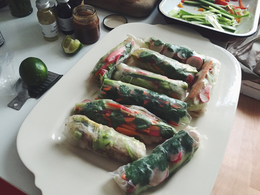 summer roll time