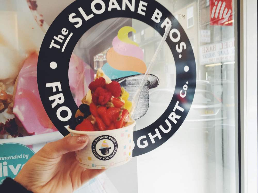 Sloane Brothers vegan ice cream