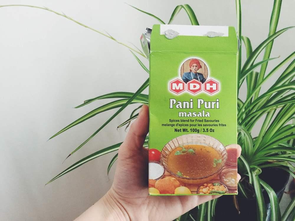 pani puri water