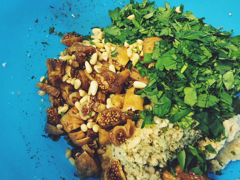 apricot and parsley stuffing