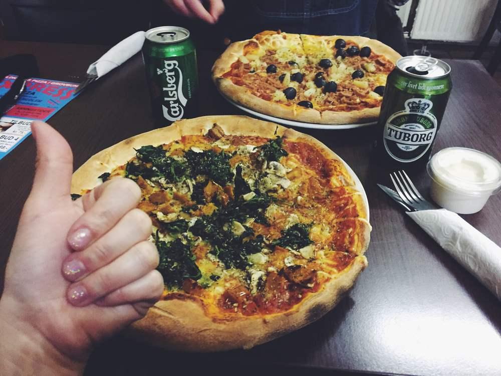 express pizza copenhagen vegan