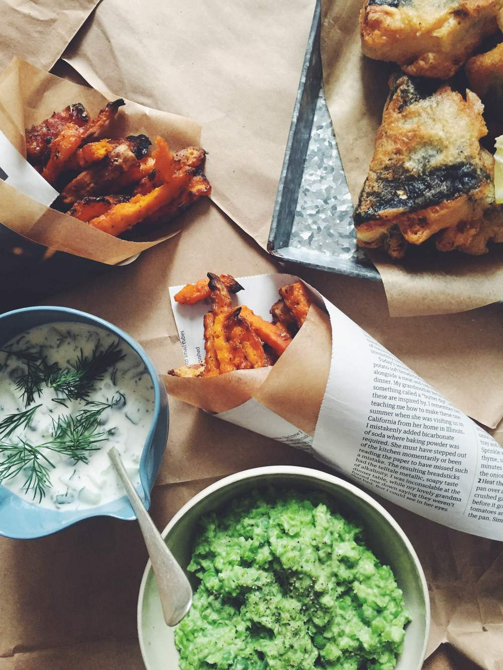 vegan tofu fish and chips recipe