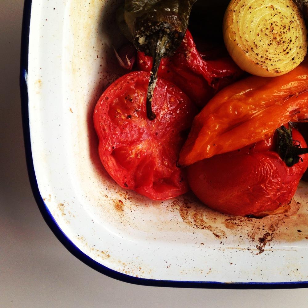 roasted pepper sauce