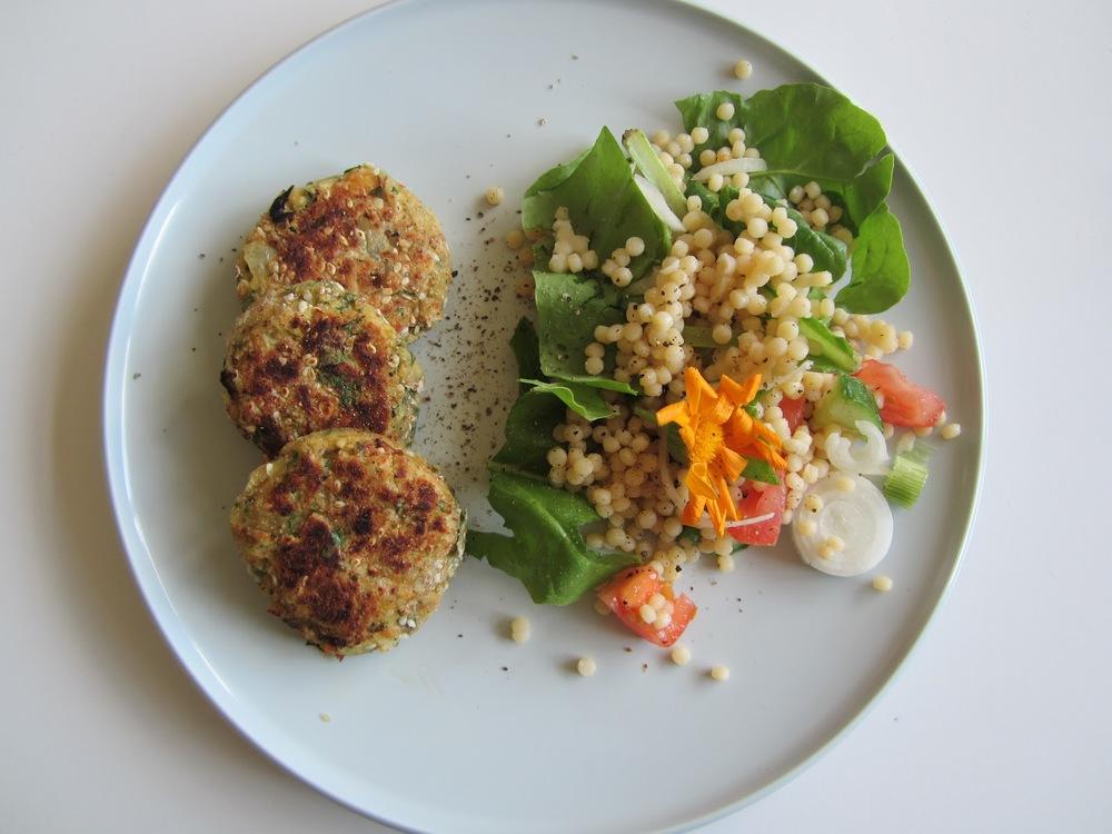 sesame seed falafel