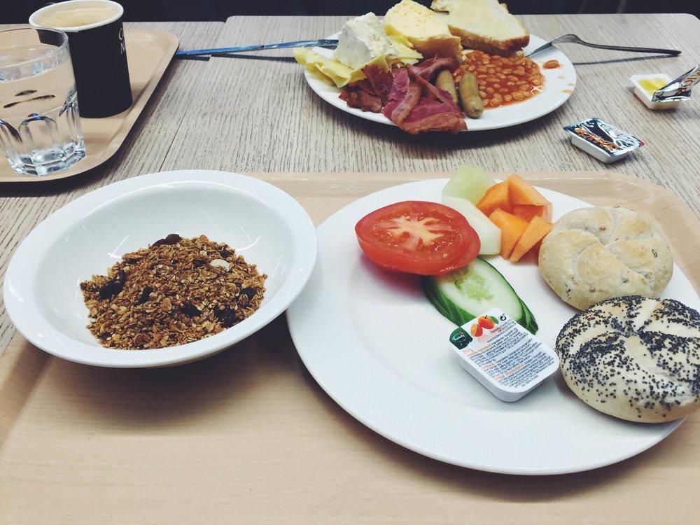 Iceland reykjavik vegan airport food
