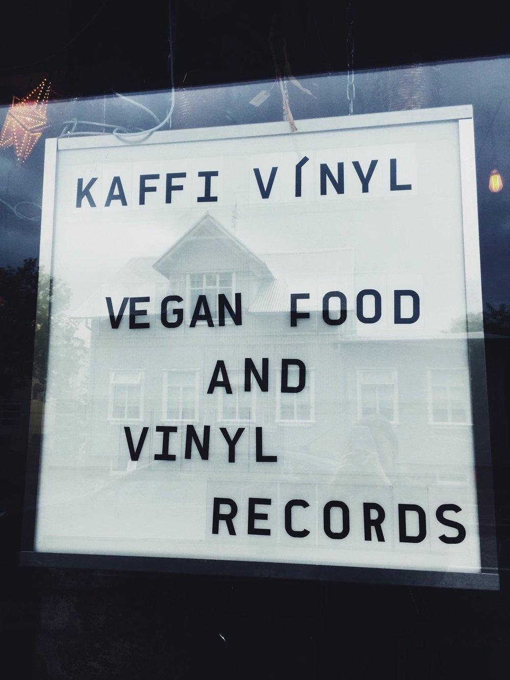kaffi vinyl iceland