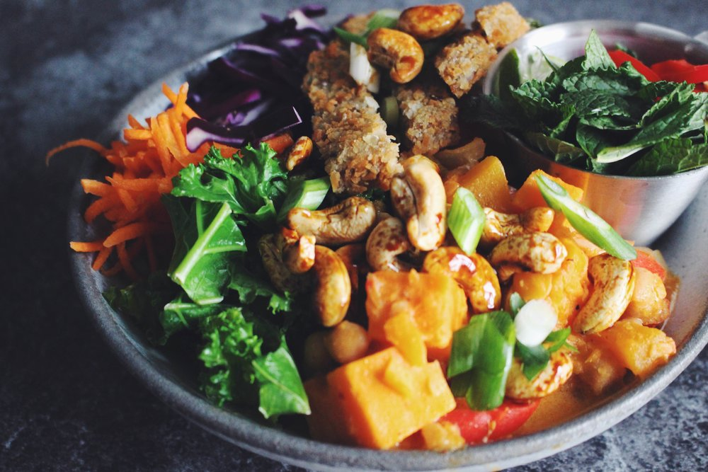sweet potato goodness bowl
