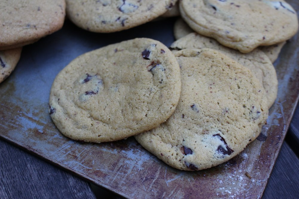 chocolate chip cookies vegan recipe