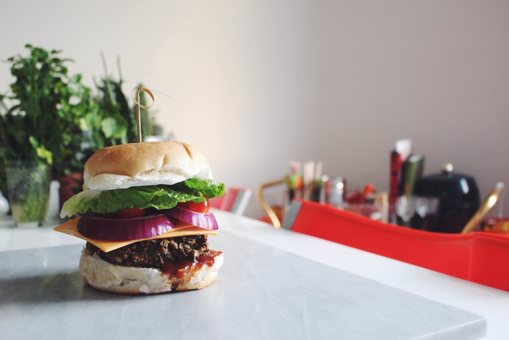 vegan burger recipe