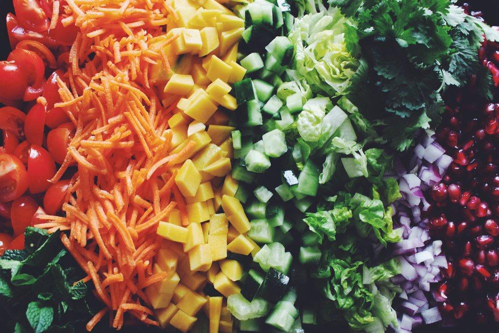 vegan bhel puri bowl