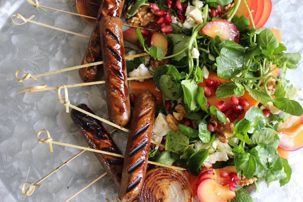 braai sausages vegan fry's foods