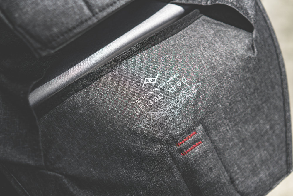 MATERIALS  Ultralight waxed Kodra synthetic canvas with DWR coating for weatherproofness, poly-spun mixed twill interior, compression-molded high-density EVA foam dividers and protective panels, die-cast and stamped anodized aluminum hardware with sandblasted finish and protective clear coat. Charcoal bags have Hypalon touchpoints, Ash bags have natural leather touchpoints