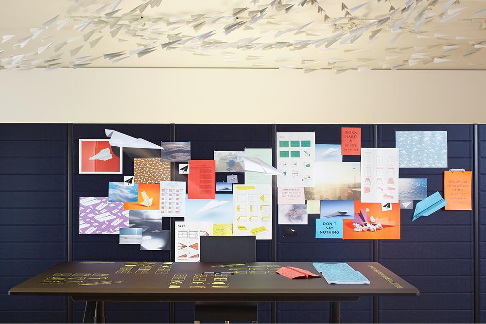 Paperplane workshop —Photographer: Lorenz Cugini © Vitra